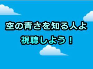空の青さを知る人よ(空青)アニメ感想